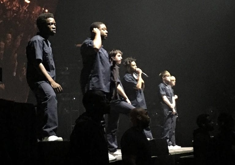 Brockhampton+at+their+concert+in+Washington+D.C+on+October+16.+Photo+by+Sweekriti+Daha