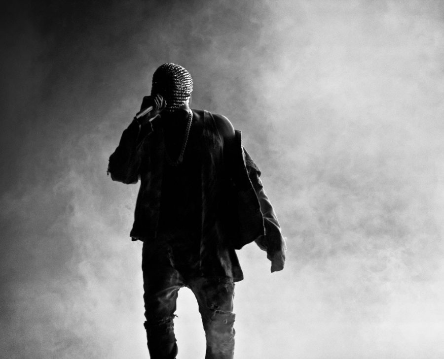Kanye+West+performing+at+a+concert.+Photo+by+Axel+Antas-Bergkvist.+