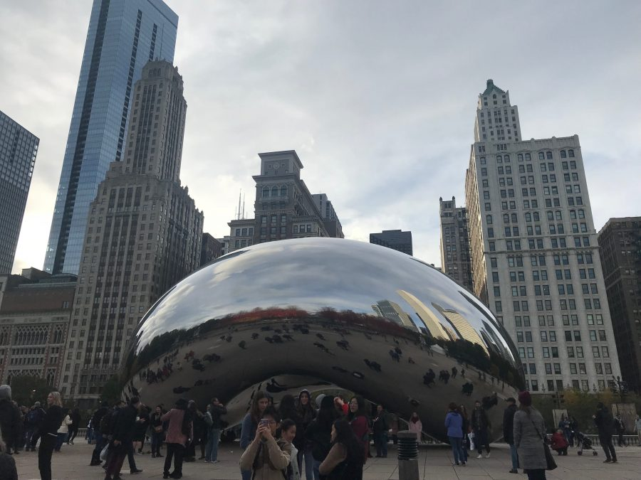 The Bean is located in the heart of Chicago, many visit there all day long.