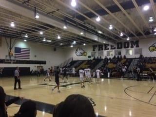Freedom High School Varsity Boys Basketball Team vs Rock RIdge High School Varsity Boys Basketball