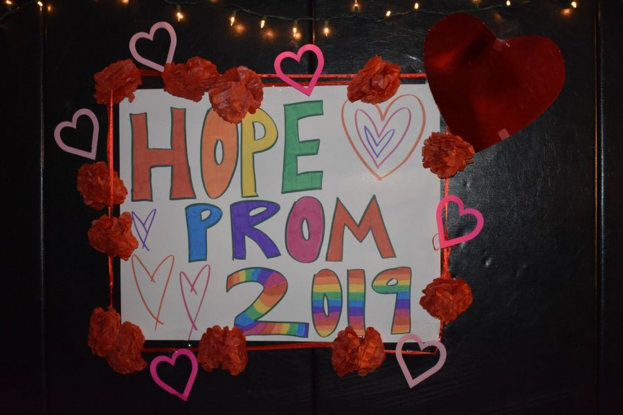 The HOPE Club dances up a storm at the HOPE Prom