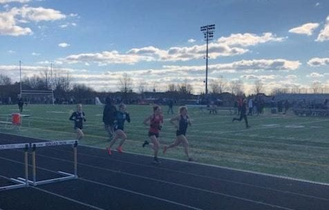 Sophomore, Abby Church in the 2 mile. Church finished second overall with a state qualifying time of 11:31.