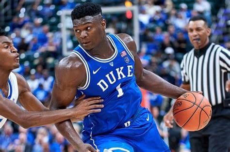 Duke is favored to win the whole tournament behind freshman phenom Zion Williamson (photo via nyppost.com)