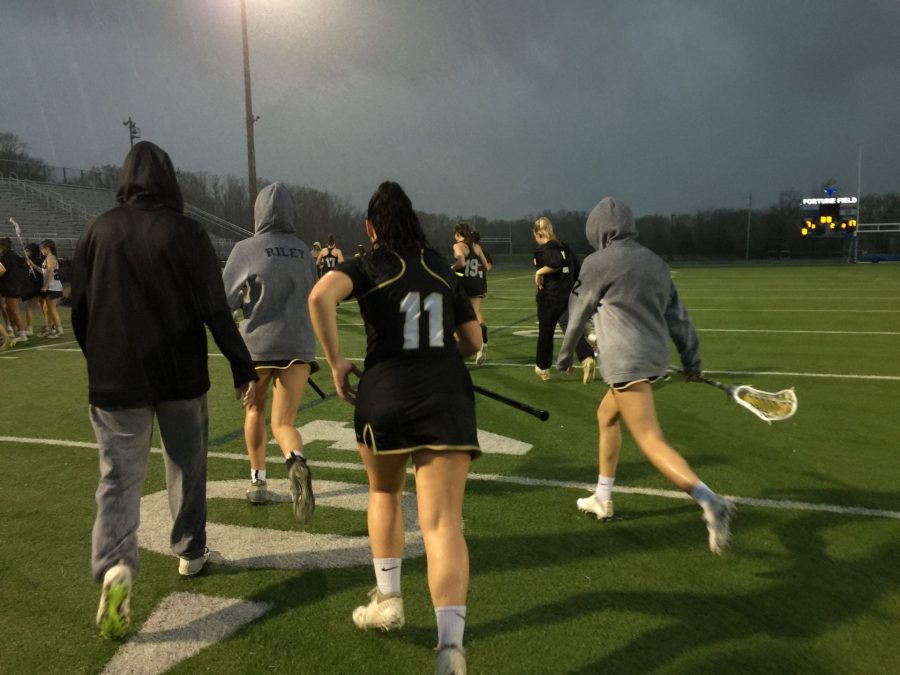 Varsity girls drenched but not defeated