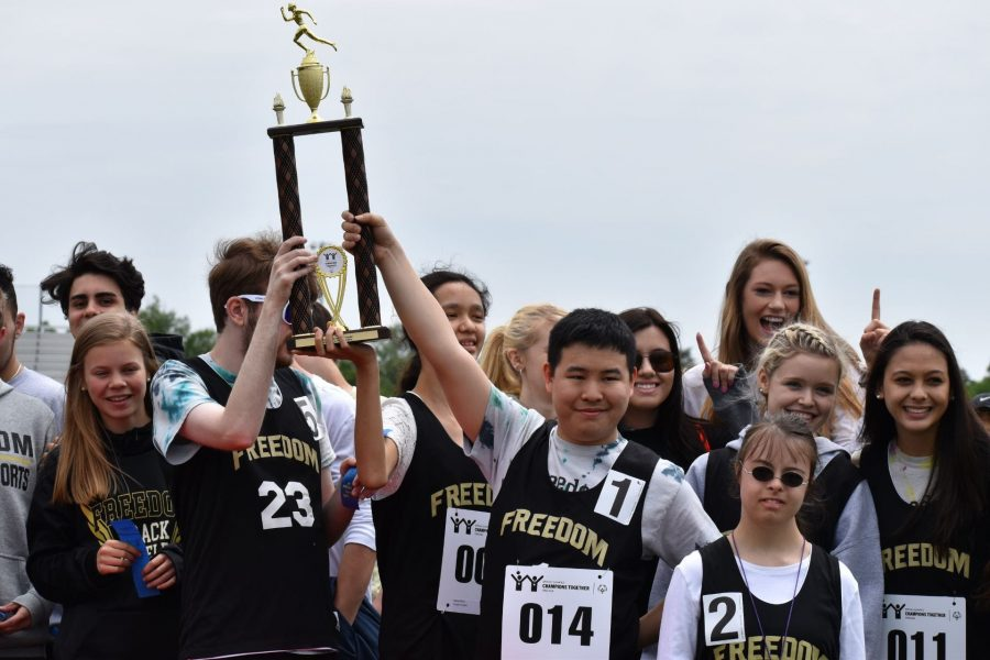 Unified Track takes first place at first ever regional meet
