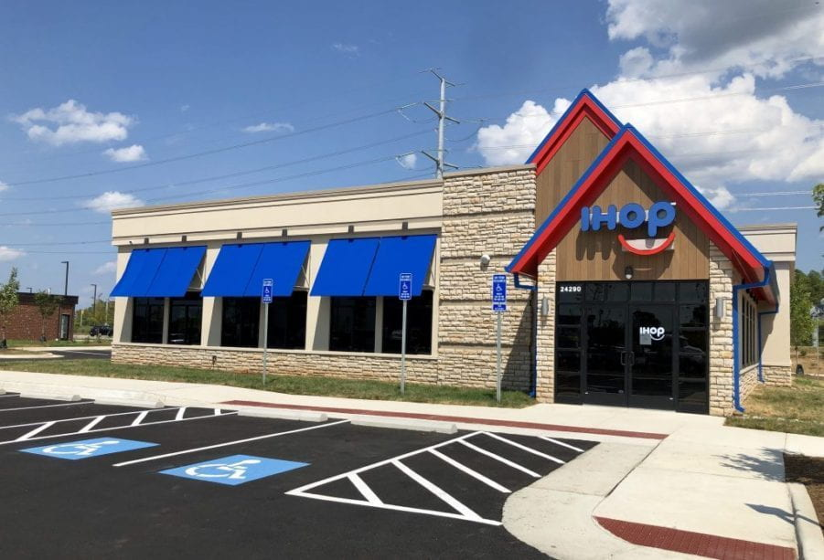 Photo provided by theburn.com.  The new iHop, which is along Loudoun County Parkway, has more possibilities due to its recent opening on Aug. 13.