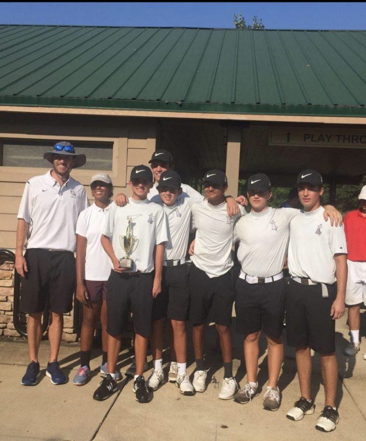 Freedom golf places 2nd at 5c North Regionals.