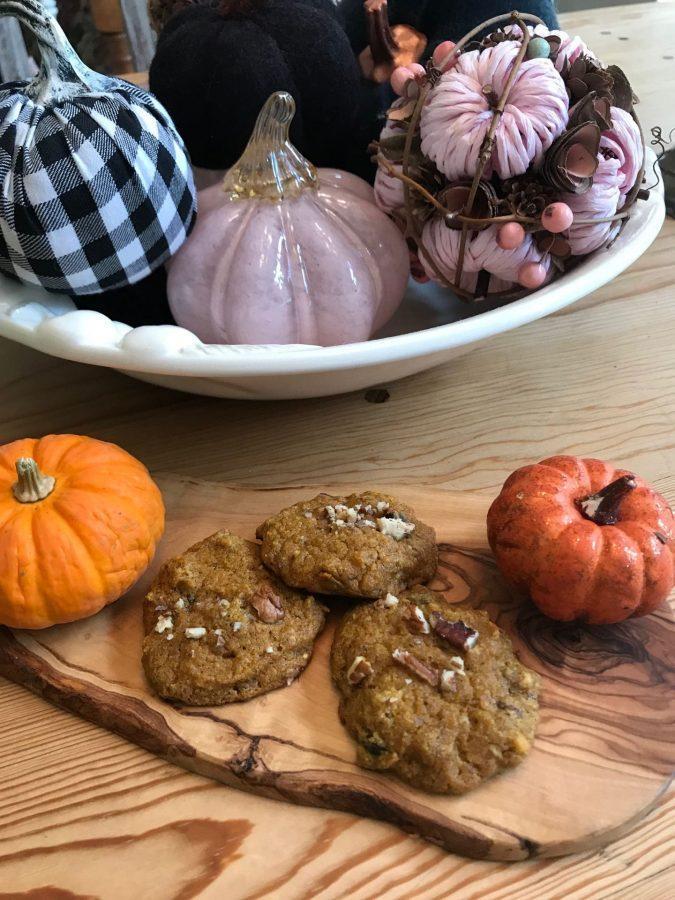 Gluten-Free Pumpkin Chocolate Chip Cookies. Photo by Emily Peacher.