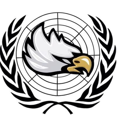 Freedom Model UN crest. Photo provided by FHSMUN.