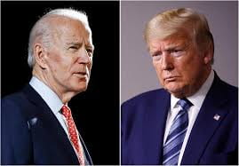 Joe Biden (Left) is the Democratic candidate this year against Donald Trump (Right) the Republican candidate. Photo produced by Forbes.