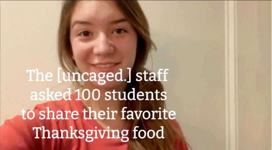 [Uncaged.] asks: Whats Your Favorite Thanksgiving Food?
