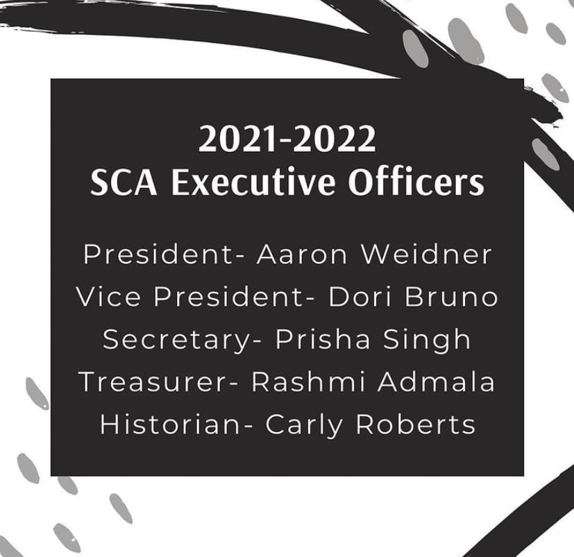 A+photo+of+the+2021-2022+SCA+Executive+officers+provided+by+the+SCA+Instagram.