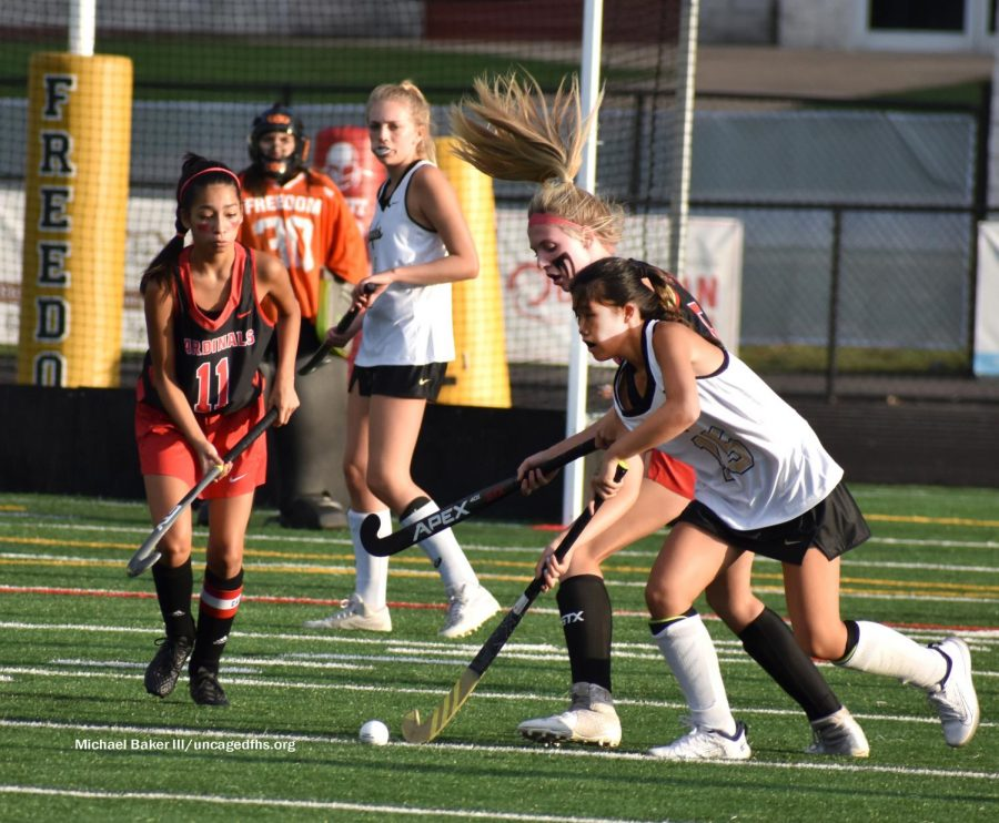 Freedom Girls Field Hockey Sweeps Past Gainesville