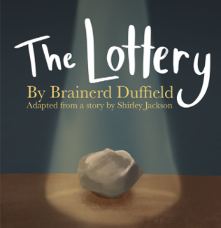 Freedom Theatre students prepare for their first performance of the year, The Lottery.
